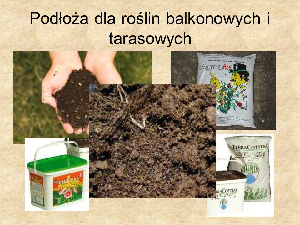 Podłoża dla roślin balkonowych i tarasowych