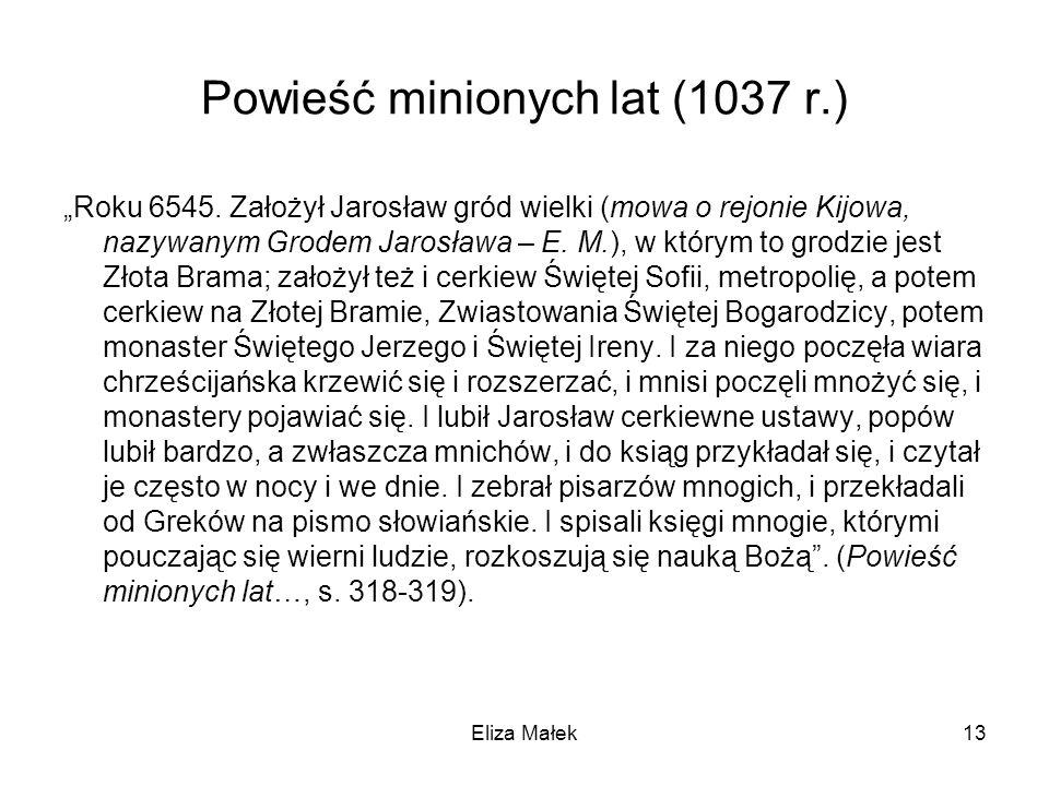 Powieść minionych lat (1037 r.)