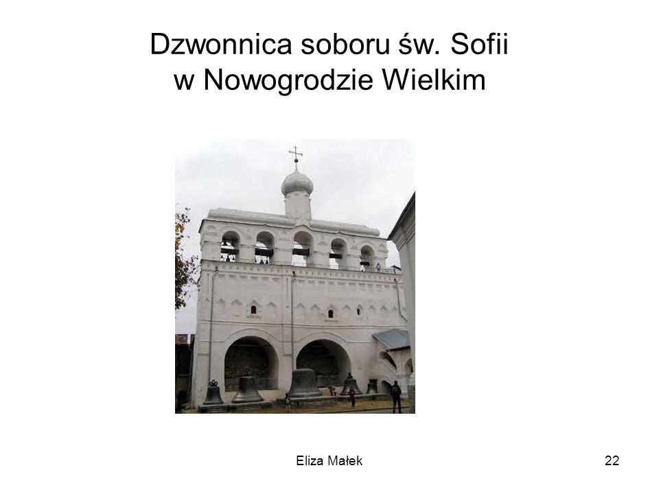 Dzwonnica soboru św. Sofii w Nowogrodzie Wielkim