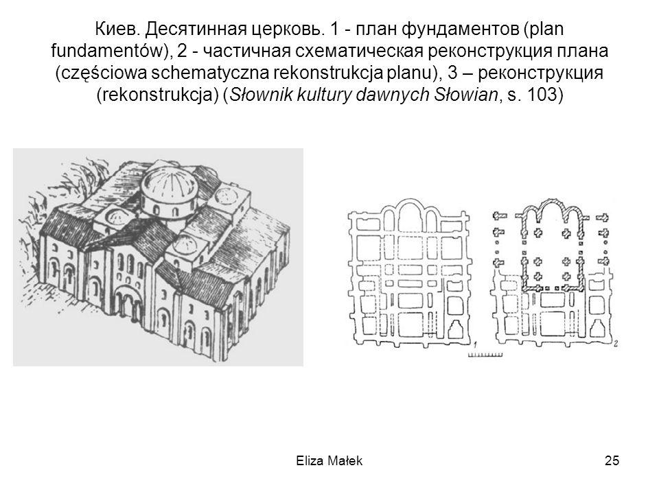 Киев. Десятинная церковь