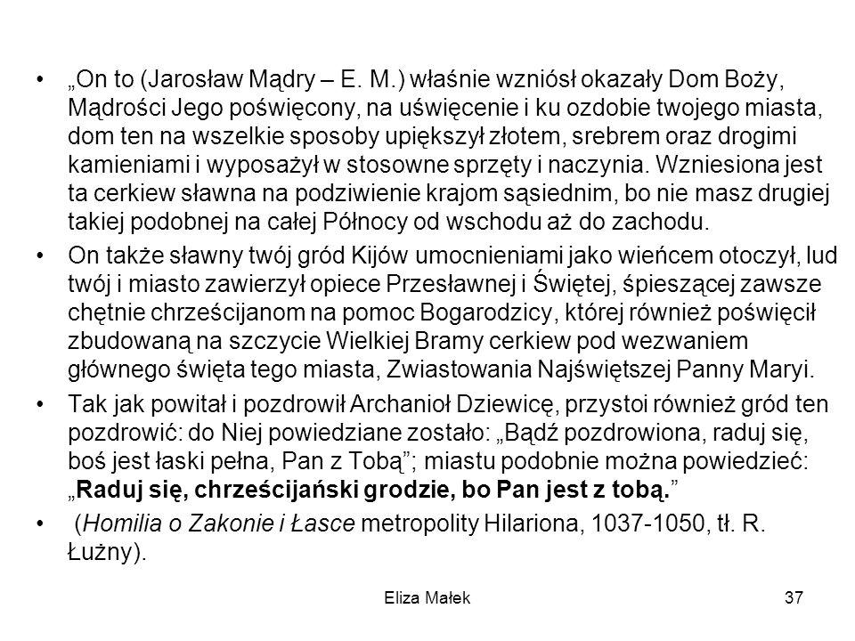 """""""On to (Jarosław Mądry – E. M"""