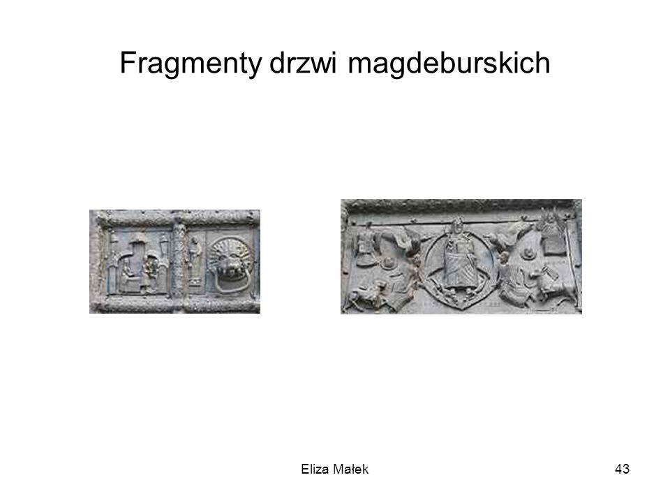 Fragmenty drzwi magdeburskich