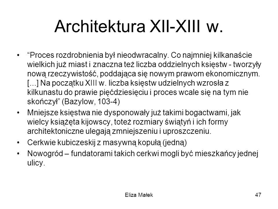 Architektura XII-XIII w.