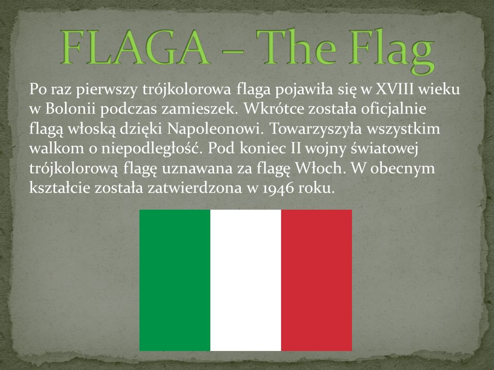 FLAGA – The Flag