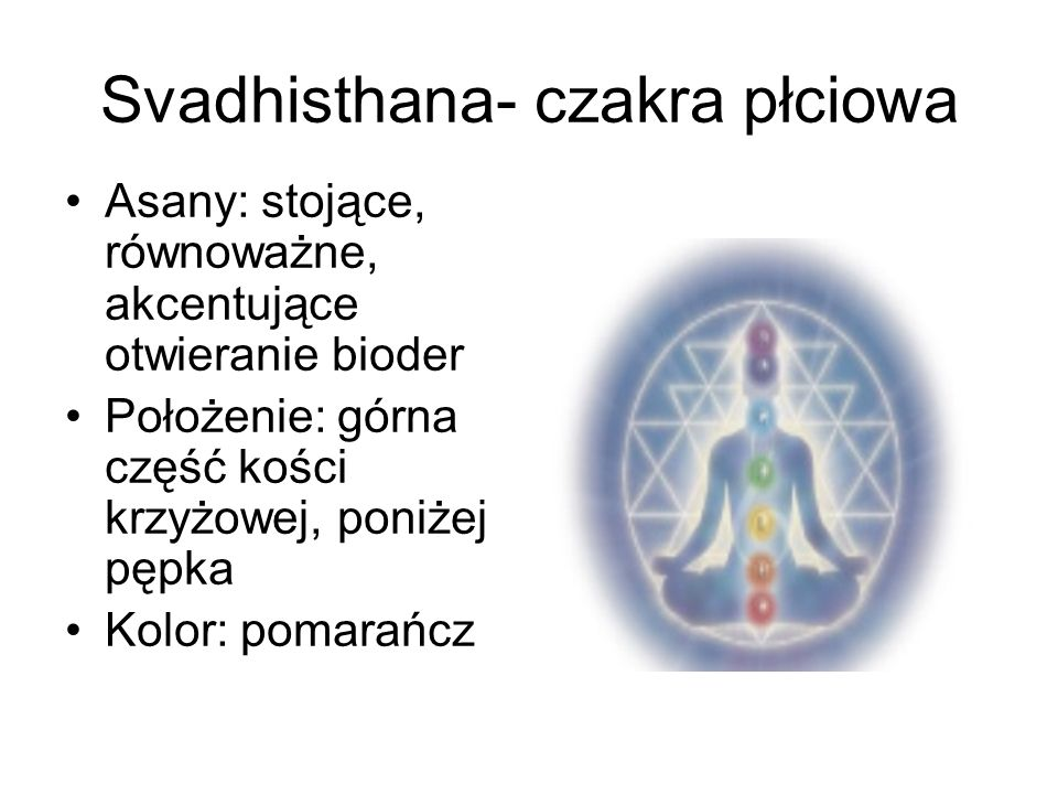 Svadhisthana- czakra płciowa
