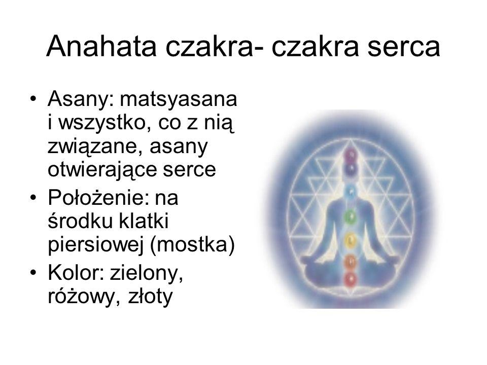 Anahata czakra- czakra serca