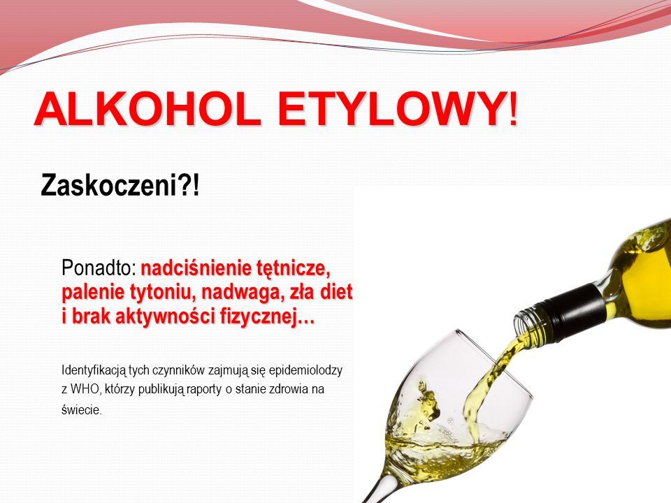 ALKOHOL ETYLOWY! Zaskoczeni !