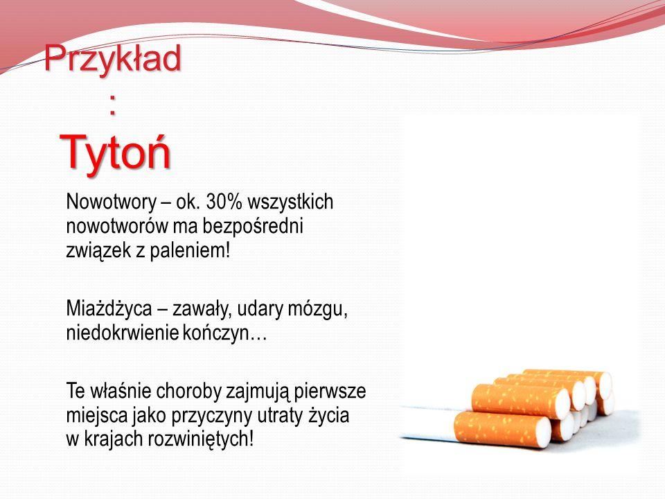 Przykład: Tytoń.