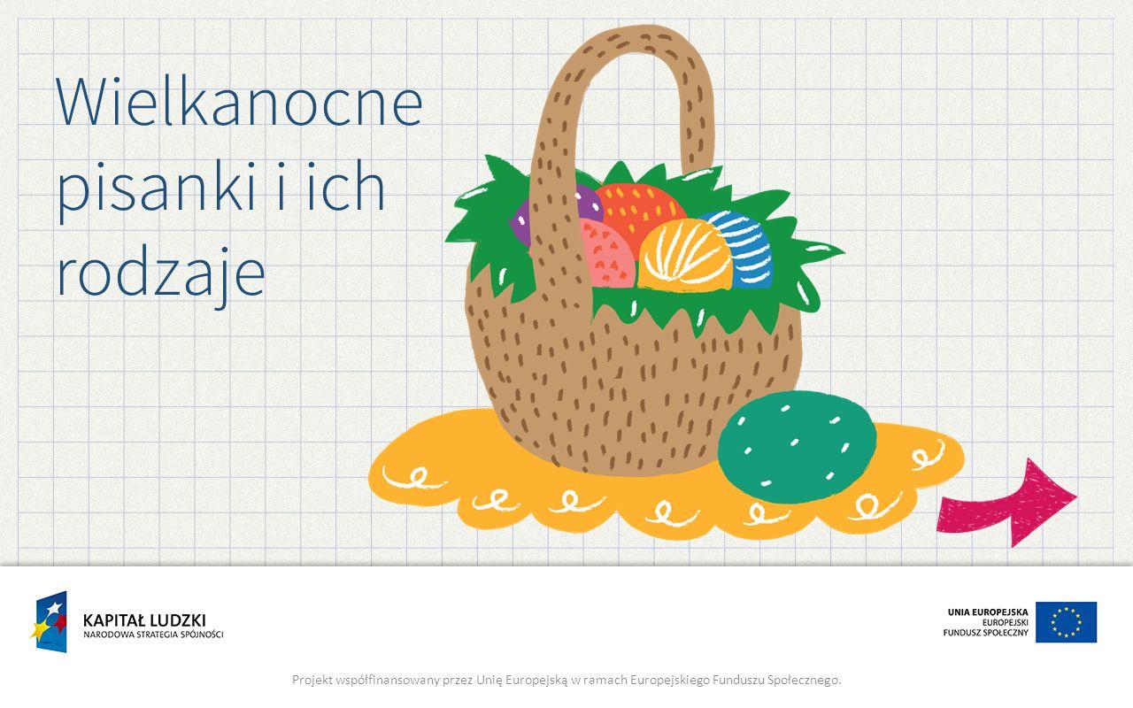 Wielkanocne pisanki i ich rodzaje