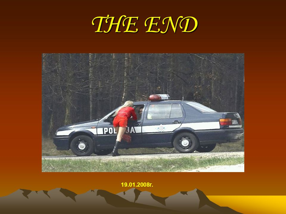 THE END 19.01.2008r.