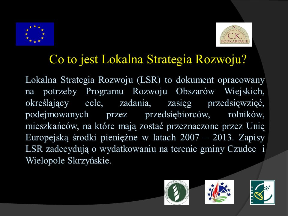 Co to jest Lokalna Strategia Rozwoju