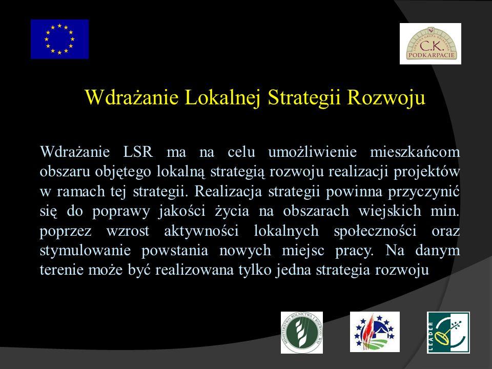 Wdrażanie Lokalnej Strategii Rozwoju
