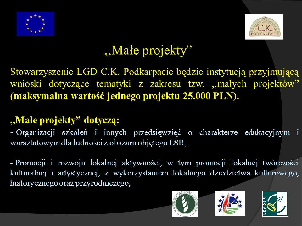 ,,Małe projekty