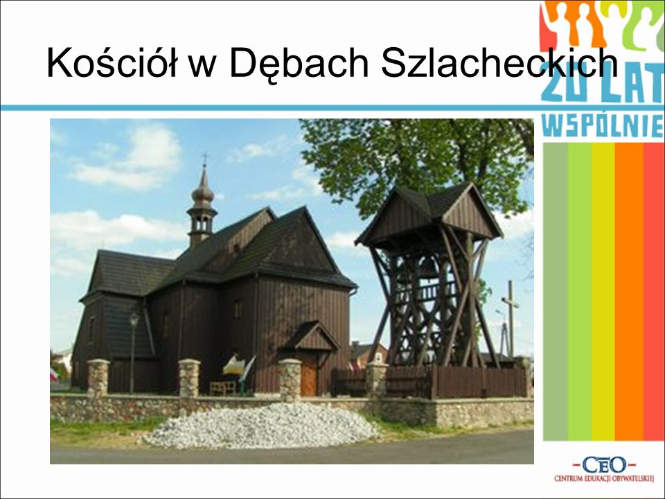 Kościół w Dębach Szlacheckich