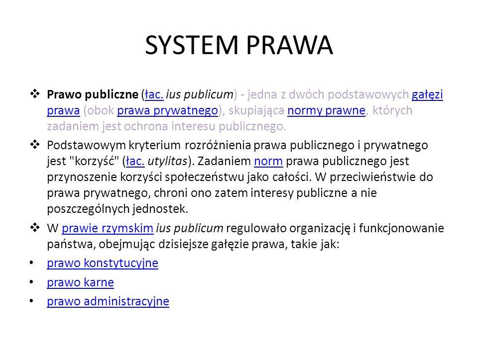 SYSTEM PRAWA