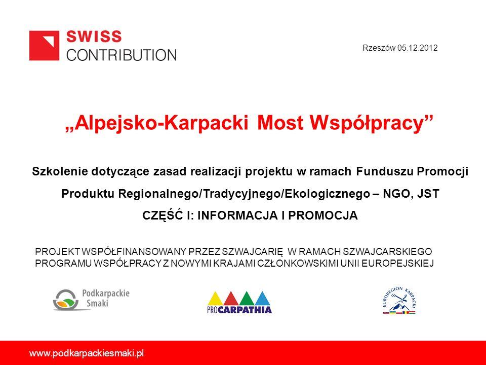 """""""Alpejsko-Karpacki Most Współpracy"""