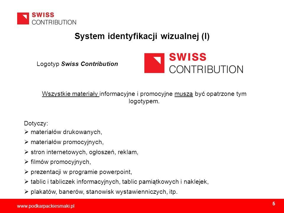System identyfikacji wizualnej (I)