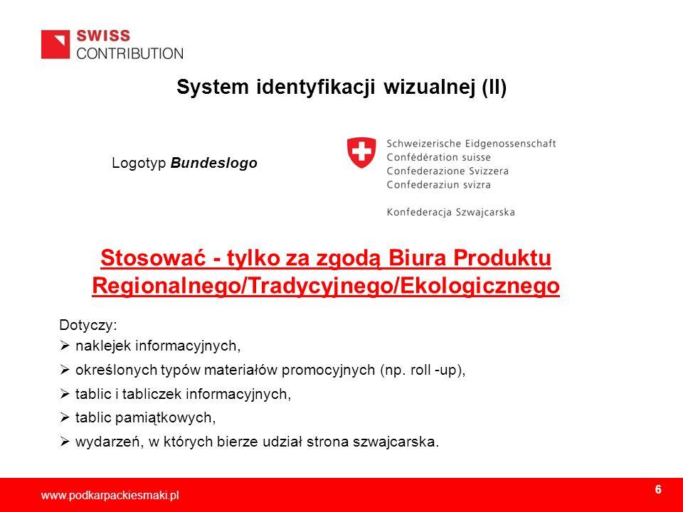 System identyfikacji wizualnej (II)