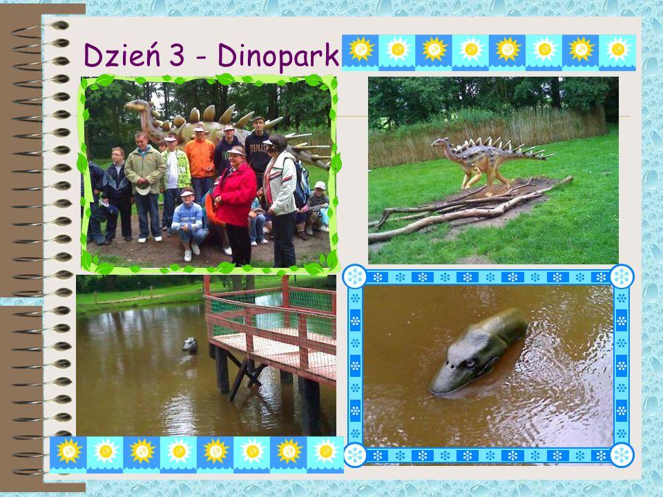 Dzień 3 - Dinopark
