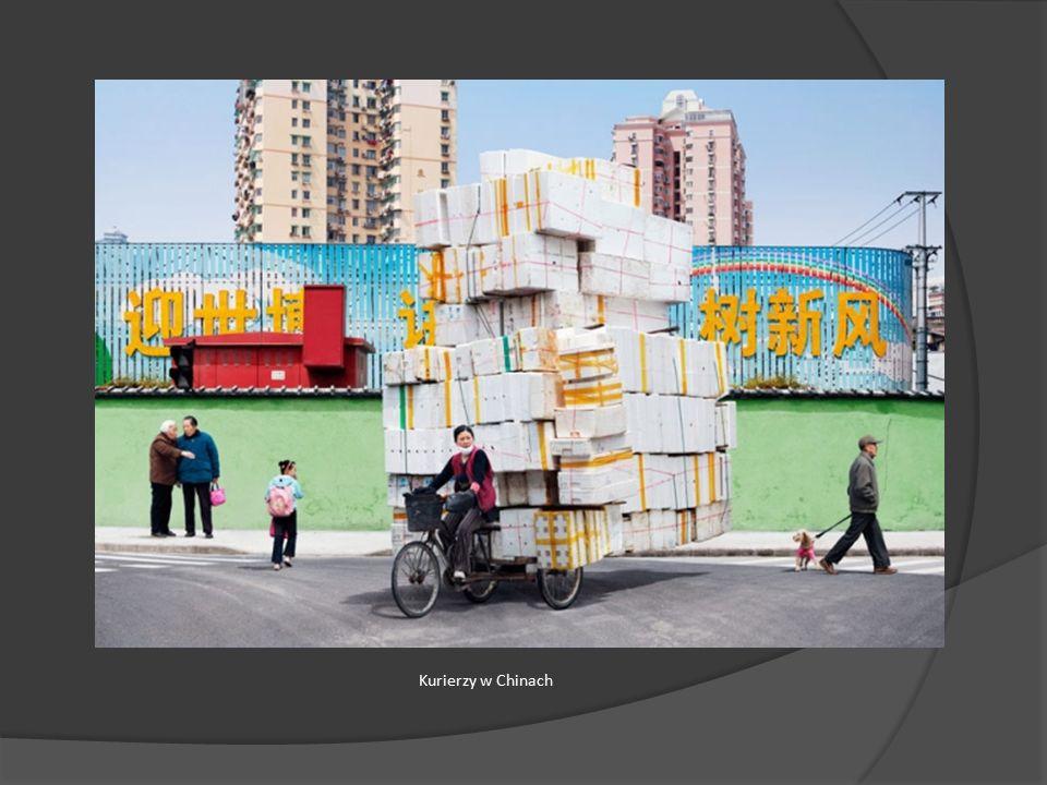 Kurierzy w Chinach