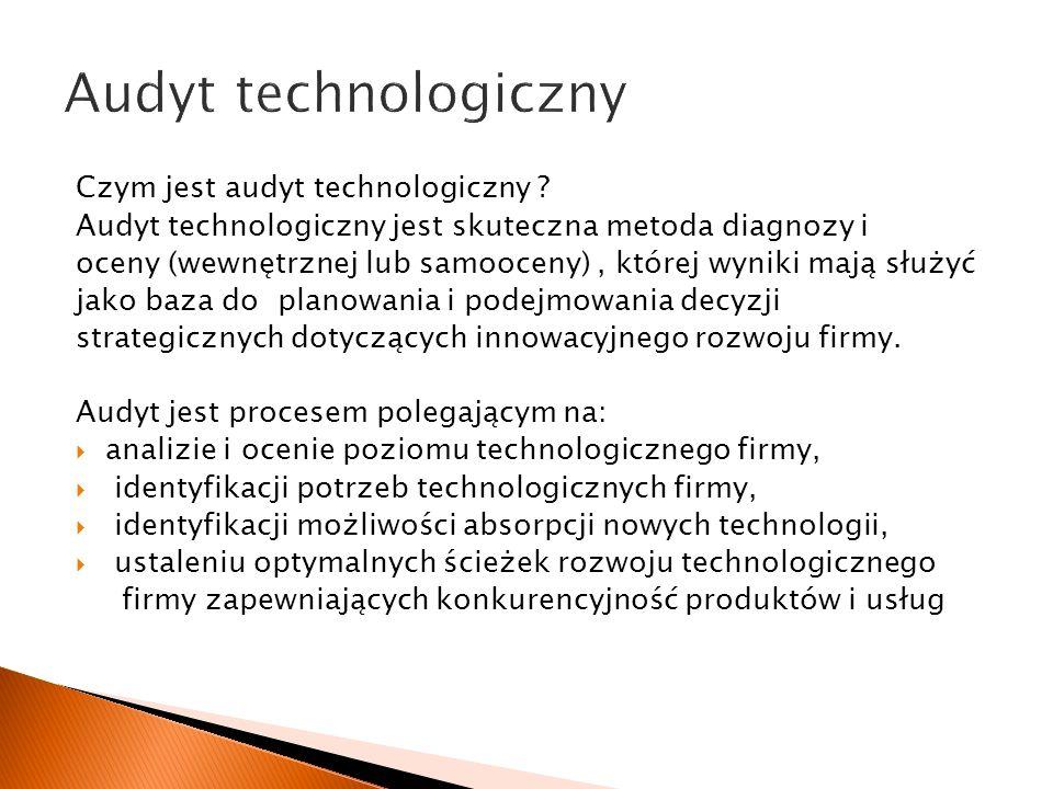 Audyt technologiczny Czym jest audyt technologiczny