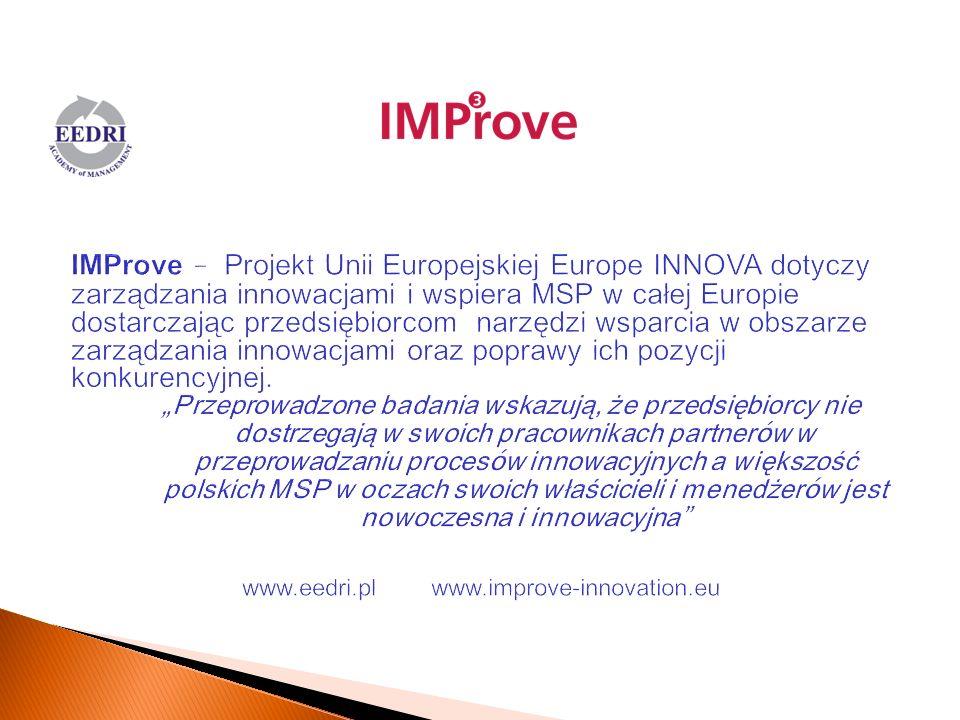 www.eedri.pl www.improve-innovation.eu