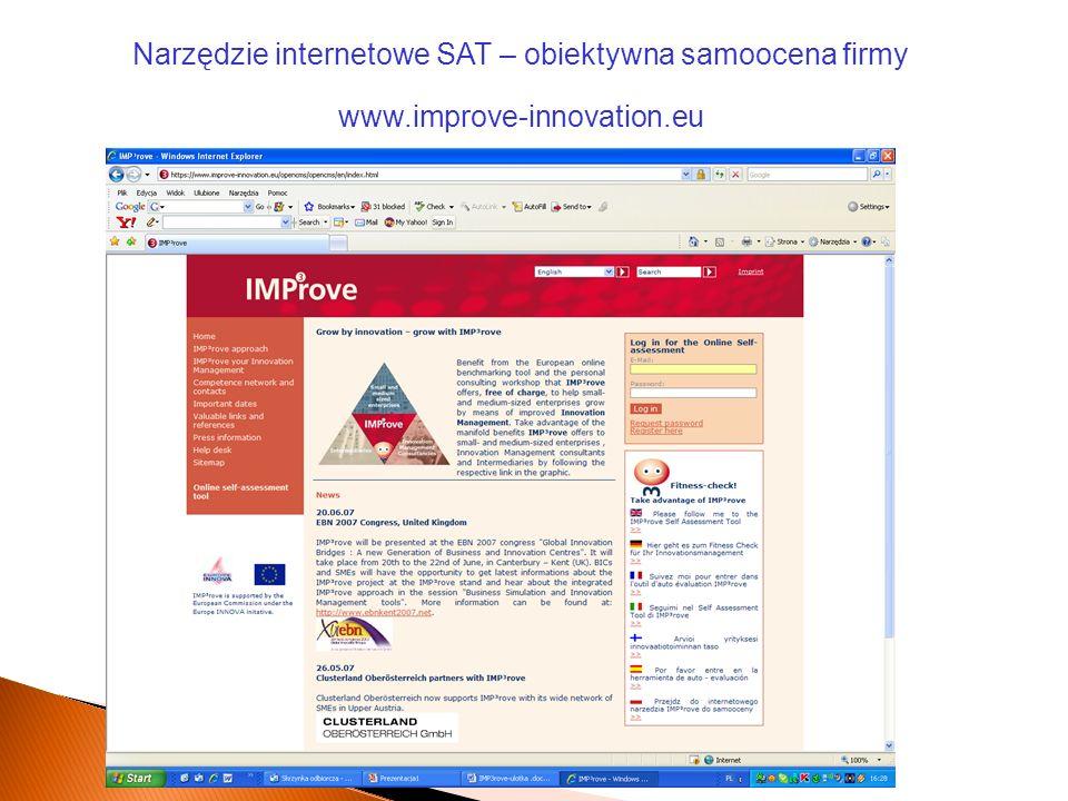 Narzędzie internetowe SAT – obiektywna samoocena firmy