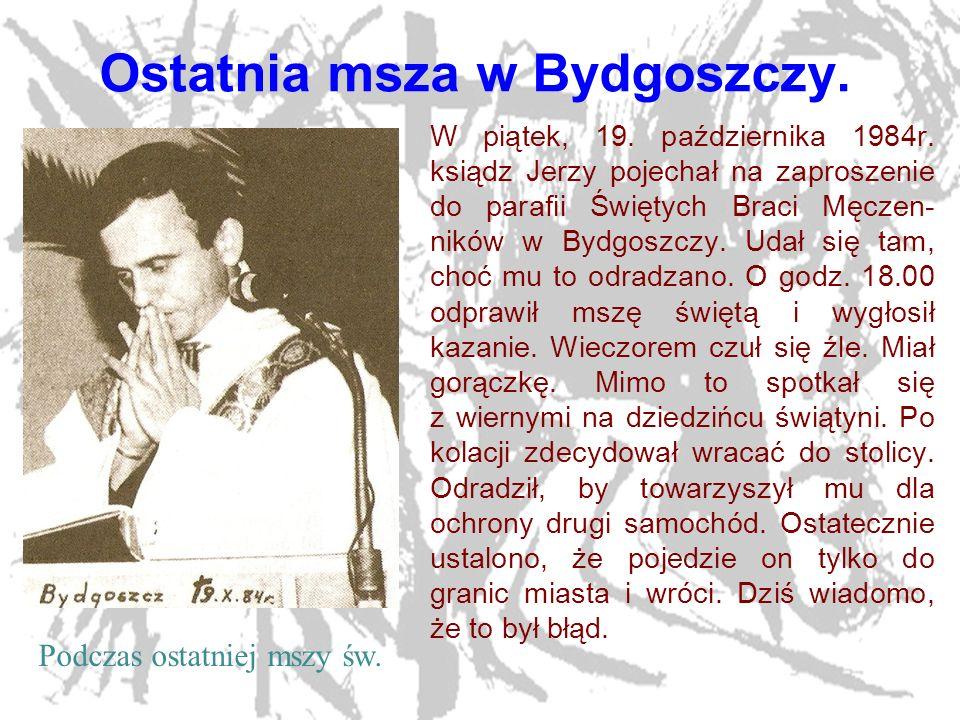 Ostatnia msza w Bydgoszczy.