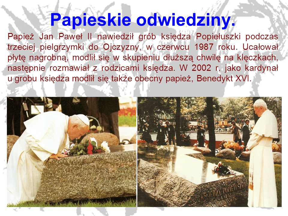 Papieskie odwiedziny.