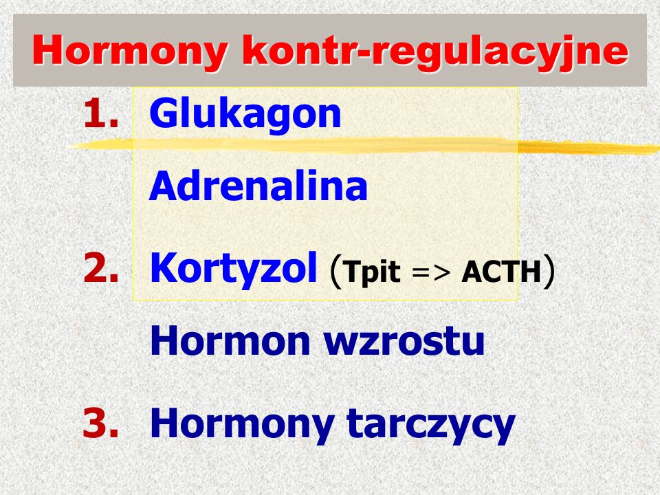 Hormony kontr-regulacyjne