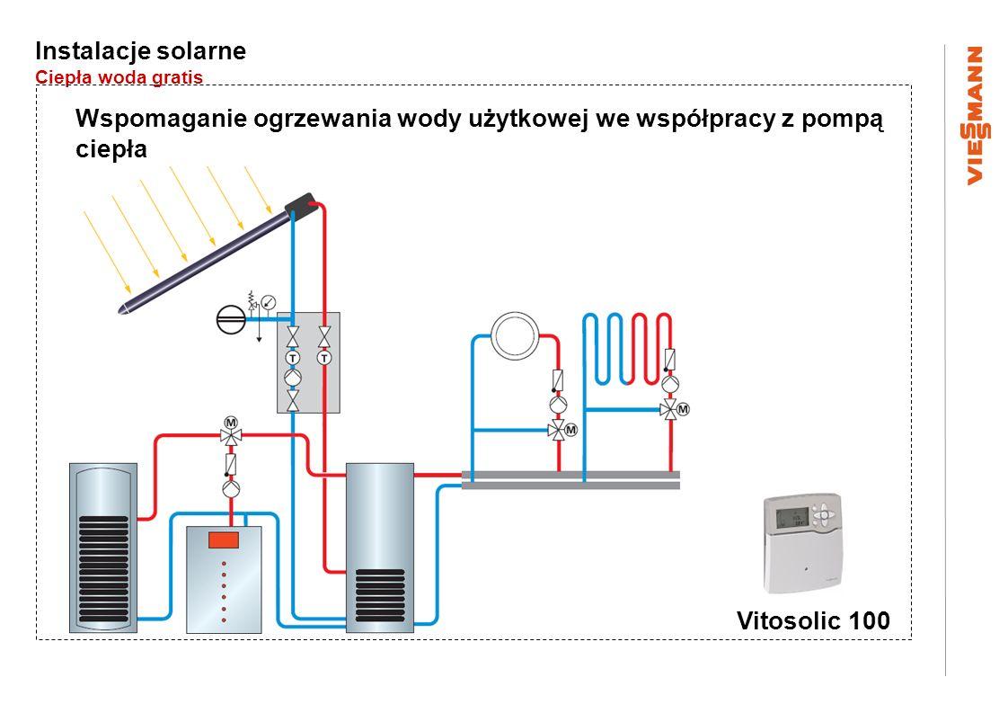 Wspomaganie ogrzewania wody użytkowej we współpracy z pompą ciepła