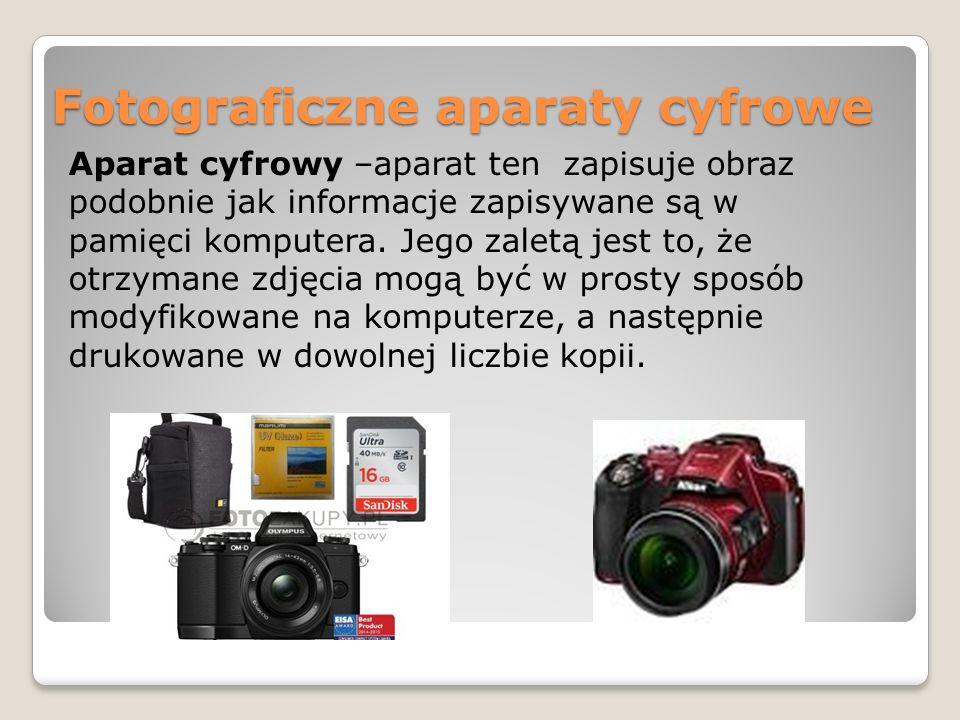 Fotograficzne aparaty cyfrowe