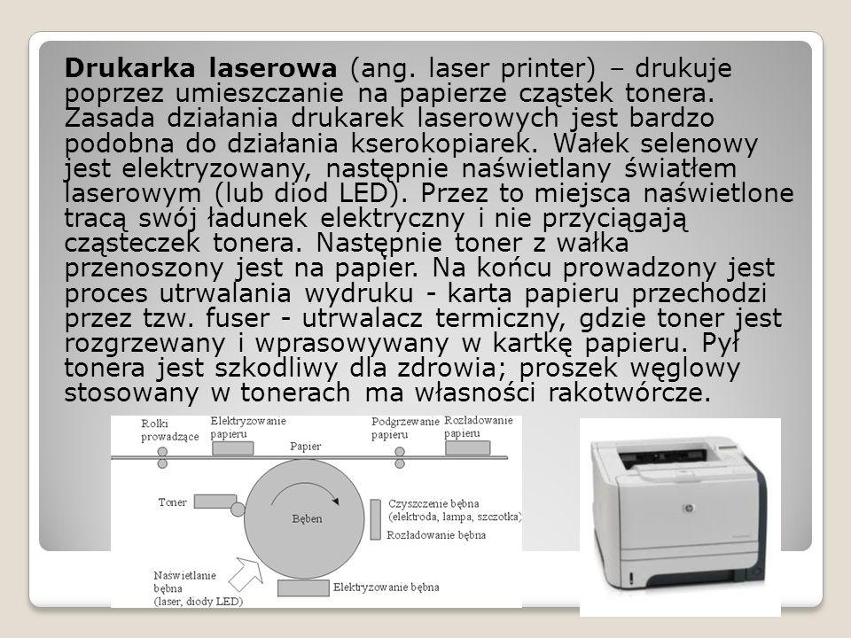Drukarka laserowa (ang