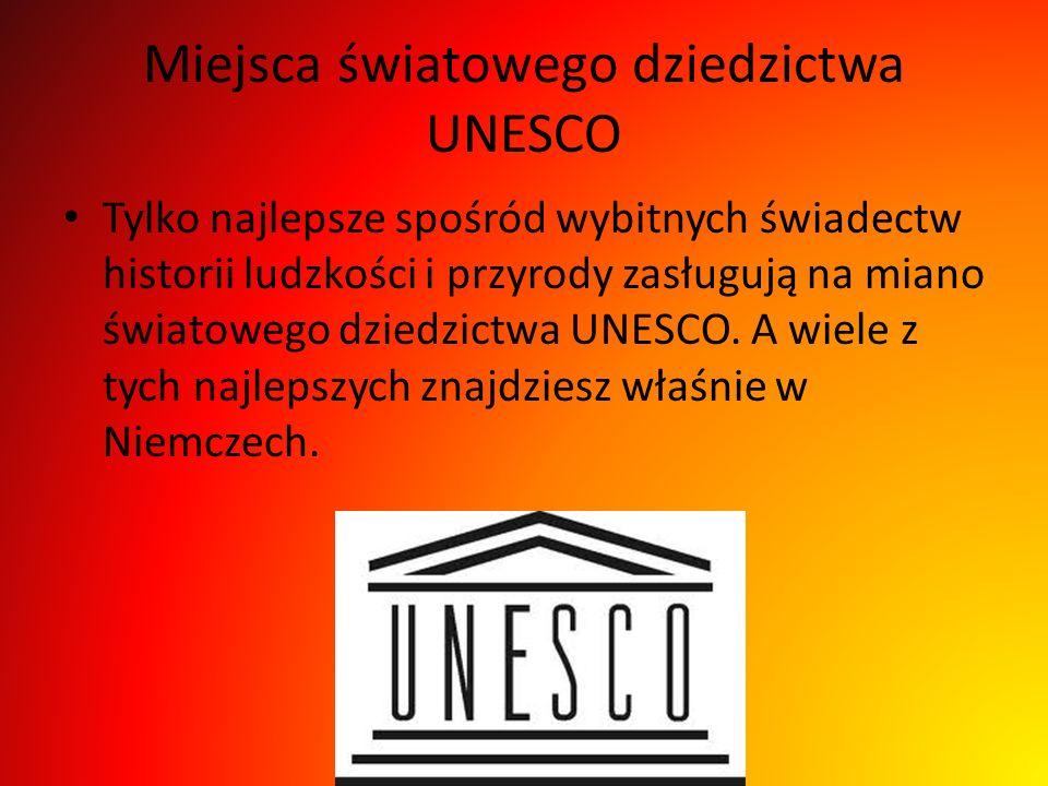 Miejsca światowego dziedzictwa UNESCO