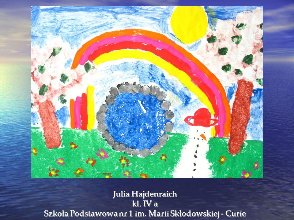 Julia Hajdenraich kl. IV a Szkoła Podstawowa nr 1 im