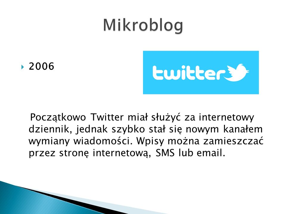 Mikroblog 2006.