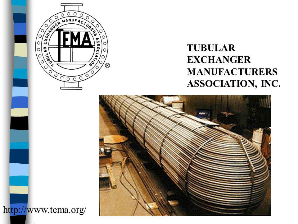 TUBULAR EXCHANGER MANUFACTURERS ASSOCIATION, INC.