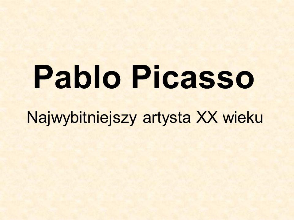 Najwybitniejszy artysta XX wieku
