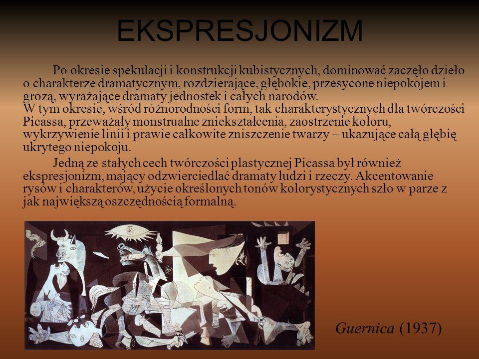 EKSPRESJONIZM Guernica (1937)