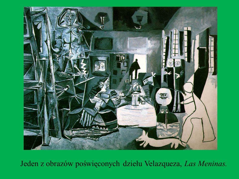 Jeden z obrazów poświęconych dziełu Velazqueza, Las Meninas.