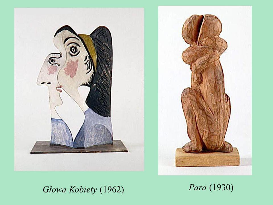 Para (1930) Głowa Kobiety (1962)