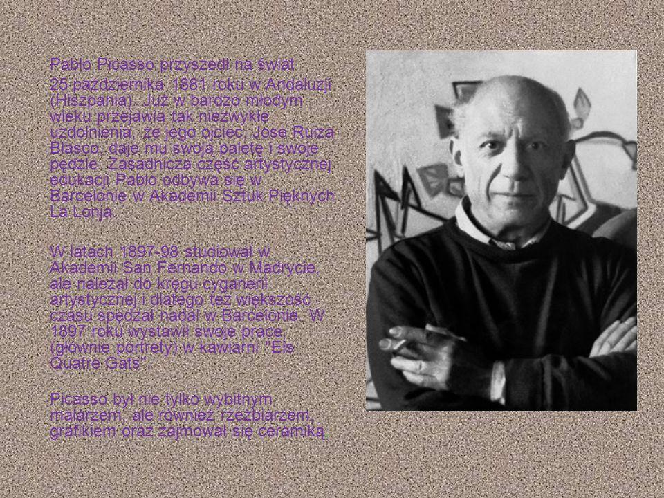 Pablo Picasso przyszedł na świat