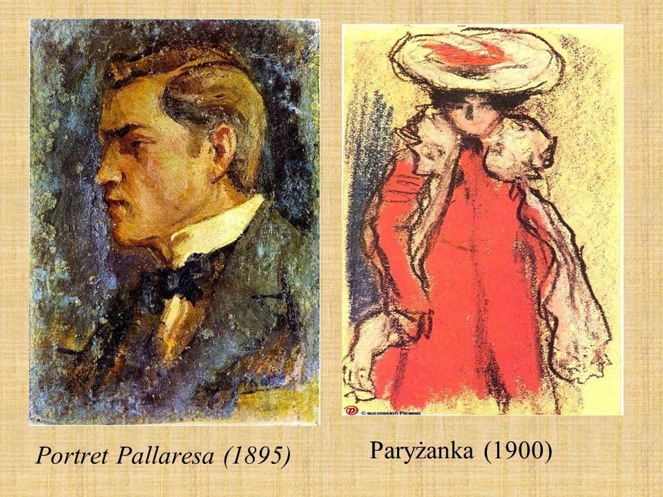 Paryżanka (1900) Portret Pallaresa (1895)