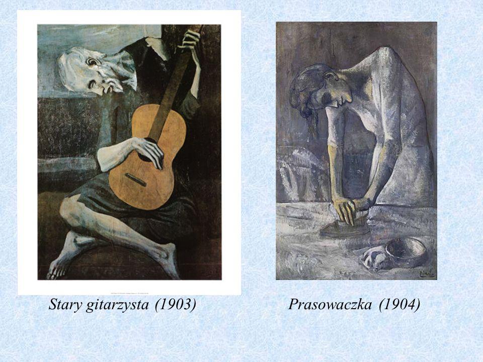 Stary gitarzysta (1903) Prasowaczka (1904)
