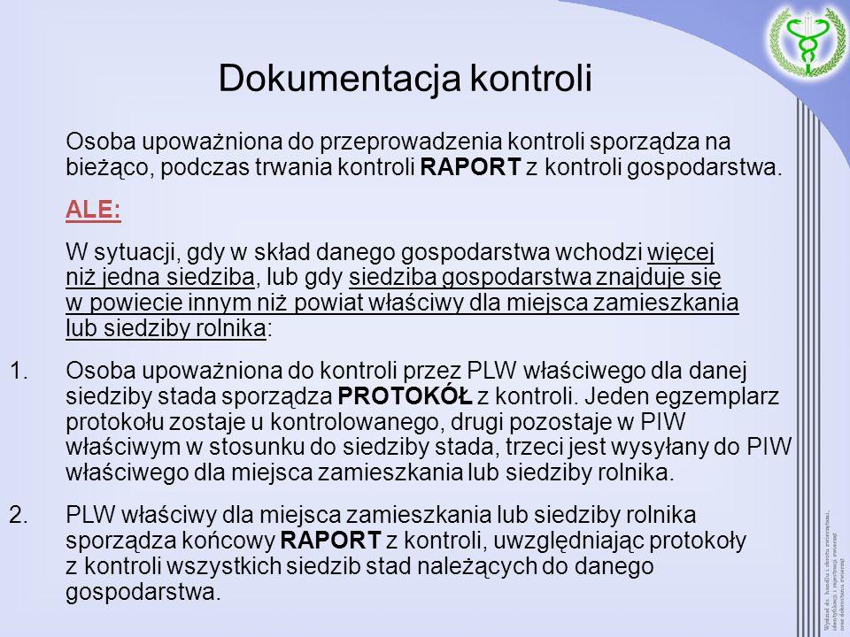 Dokumentacja kontroli