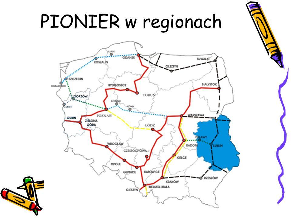 PIONIER w regionach