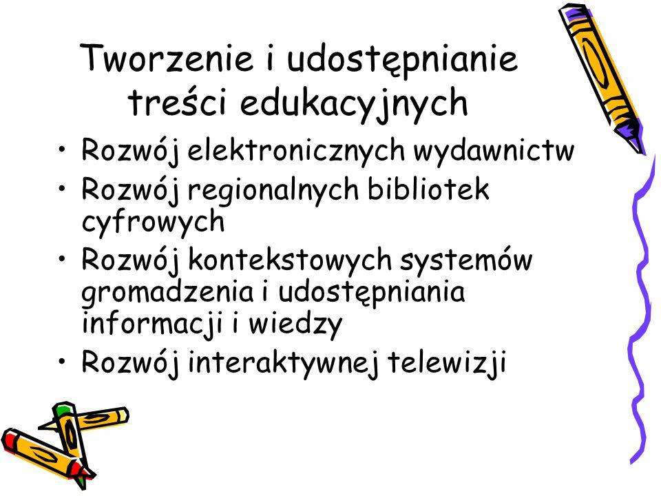 Tworzenie i udostępnianie treści edukacyjnych