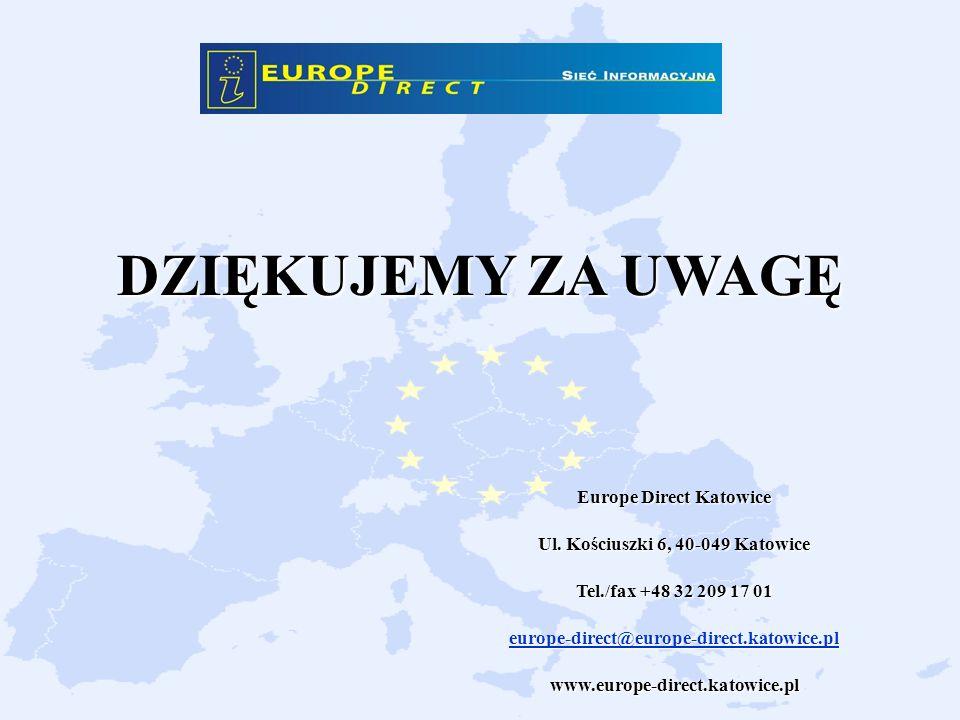Europe Direct Katowice Ul. Kościuszki 6, 40-049 Katowice