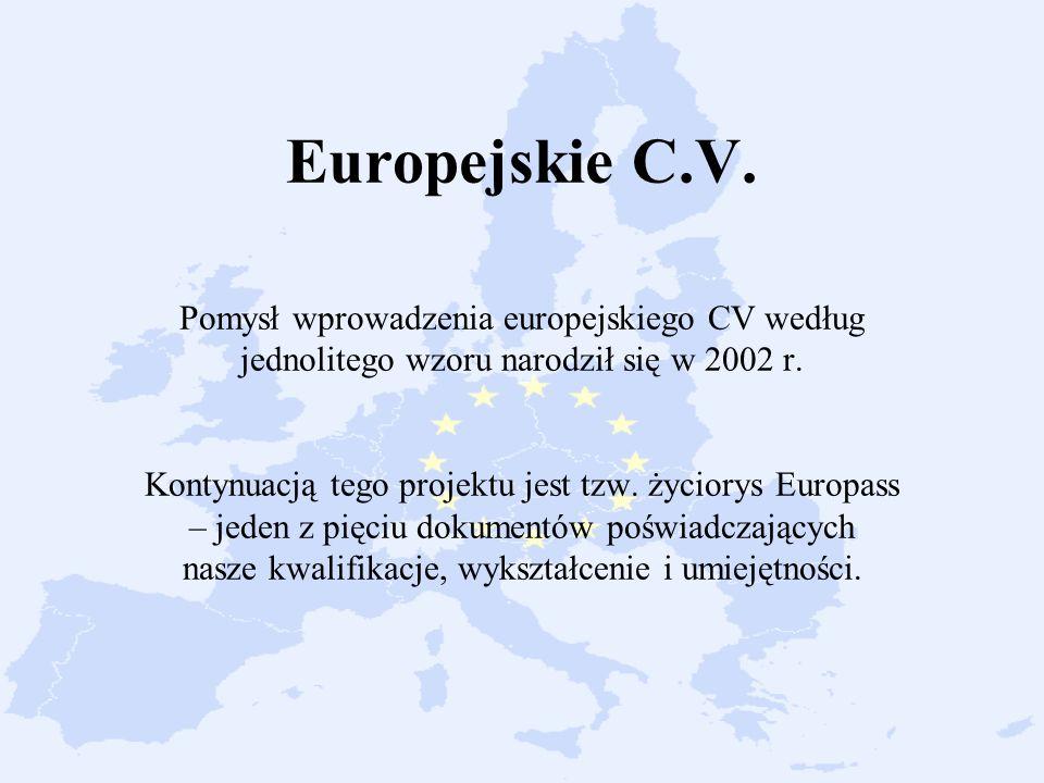 Europejskie C.V.