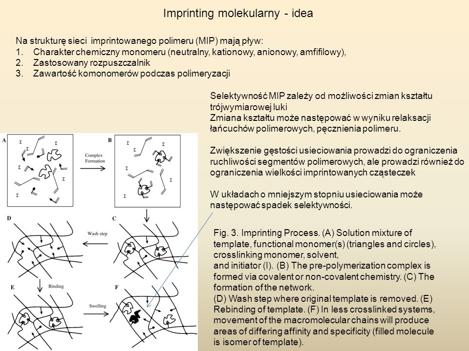 Imprinting molekularny - idea